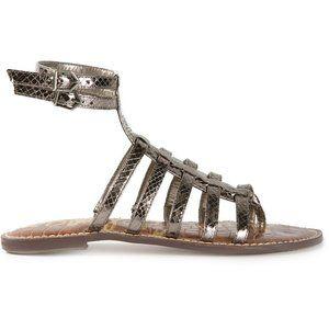 Sam Edelman Gilda Gladiator Sandals in Pewter